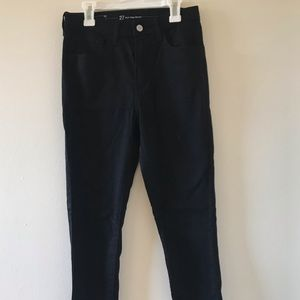 Levi Strauss | High Rise Skinny Black Jeans